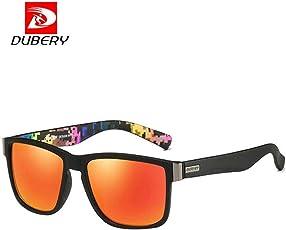 bescita DUBERY Herren Retro Vintage Sonnenbrille im Angesagte Browline-Style mit markantem Halbrahmen Sonnenbrille, Brillen Trends 2018