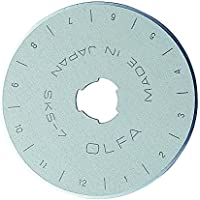 Olfa Lames Rotatives Inoxydable 45mm, Argent