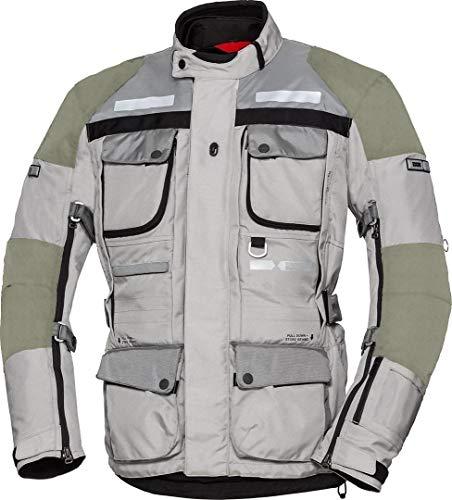 IXS Tour Lt Jacket Montevideo-Air 2 Light Grey-Dark Grey Xl