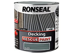 Ronseal Drps25l 2.5 Litre Decking Rescue Paint - Slate