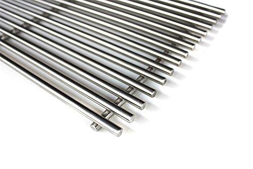 rillrost - 2er Set - Passt zu Weber Spirit 200er Serie - 44,2 x 25,2 cm 7 mm ()