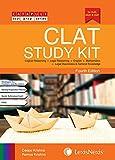 CLAT Study Kit (Legal Reasoning, English, Logical Reasoning, Mathematics and Legal Awareness & General Knowledge)