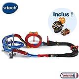VTech - Turbo Force - Méga Circuit Super Loop + Montre Voiture, circuit voiture enfant avec voiture télécommandée et montre...