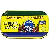 Nautilus Sardines à la Harissa 125 g - Lot de 6