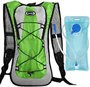 Outdoor Sport Hydration Backpack for Camping Hiking Riding Climbing Running Sports Backpack Bag with 2L Water