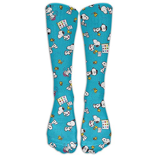 Axige888 Blue Peanuts Duppy Youth Boys Girls Crew Socks Thin Socks Casual Socks For Daily Life Cosplay,One Size