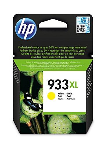 HP CN056AE - Cartucho de tinta HP 933XL de alta capacidad, amarillo