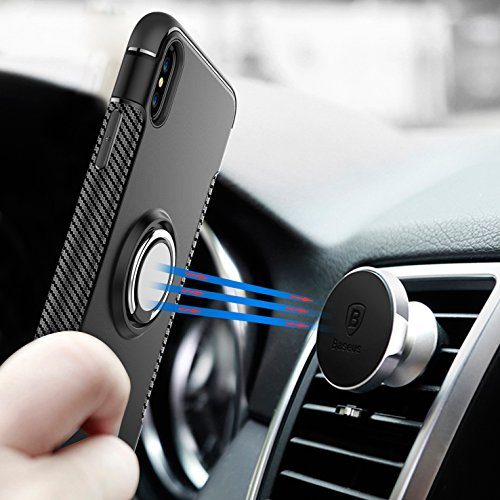 Kadcope Copertura del telefono cellulare per iPhone X, SoftFlex Custodia protettiva sottile per la copertura Apple iPhone X / iPhone X Blue-A