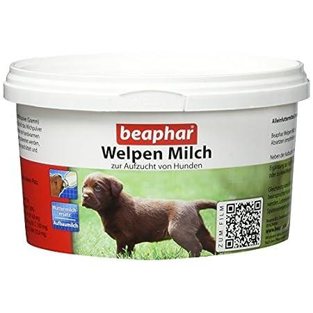 Welpen Milch | Vollwertiger Mutter-Milchersatz für Hundewelpen von der Geburt an | Ideale Aufzuchtmilch | Mit Vitamine…