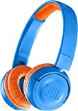 JBL JBLJR300BTUNO Btuno JR30 °F8 M550bt Wireless On-Ear Headphones for Children Rocker Blue