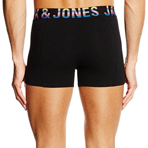 JACK & JONES Herren Boxershorts Jjacmixtype Trunks Noos Schwarz
