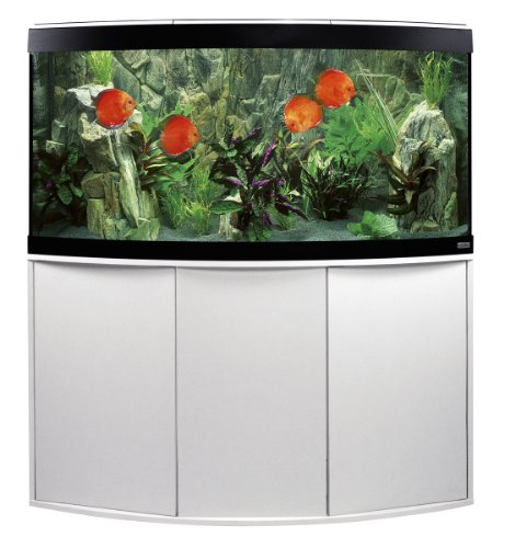 Fluval A11825 Panorama-Aquariumkombination Vicenza, 260 l, weiß