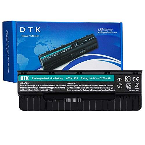 DTK A32N1405 Batterie pour ASUS N551 N551JX N551JK N551JM ROG G551 G551J G551JK G551JW G551V G771 G771JM GL551 GL551J GL771 GL771J 10.8V 5200mAh