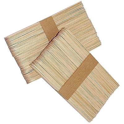 Hosaire Holzspatel/Holzstäbchen Holzmundspatel zum