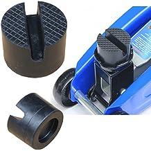 Almohadilla de goma 50x37 mm, Nut & Waffel, bloque de goma para plataforma elevadora, gato elevador, de ICTRONIX