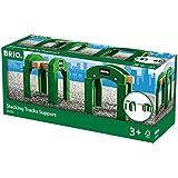 Brio - 33253 - Circuits de train en bois - Supports avec Rail intégré