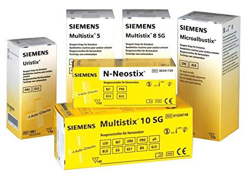 Bayer / Siemens 28579 Harn Diagnostik Uristix, Visuelle Geräteauswertung (50-er pack)