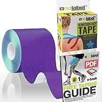 No Label Kinesiologie Tape - Physio Tape - Body Tape - Sportstape | 5 cm x 5 m | Schutz + Schnelle Regeneration... preisvergleich bei billige-tabletten.eu