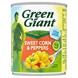 Green Giant Sweetcorn with Peppers 198g