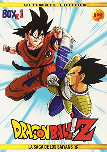 Dragon Ball Z: La Saga De Los Saiyans - Box 1 [DVD]