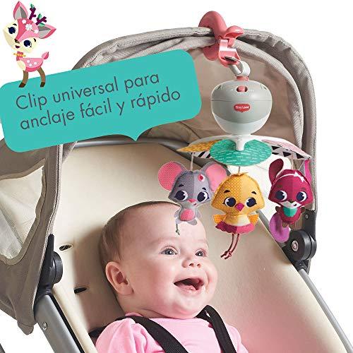Imagen para Tiny Love Take-Along Tiny Princess Tales - Móvil para bebés y juguete de actividad con música para cochecito, apto desde el nacimiento, a partir de 0 meses, 5 melodías
