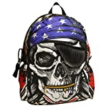 VonFon Bag Work Place Pirate Skull Shoul...