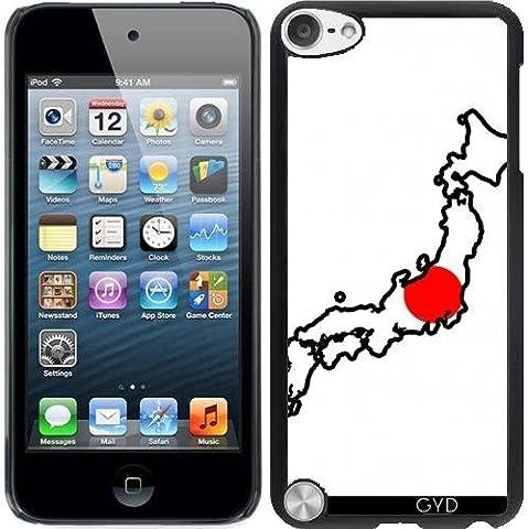Coque pour Ipod Touch 5 - Japon Carte De Drapeau by Cadellin