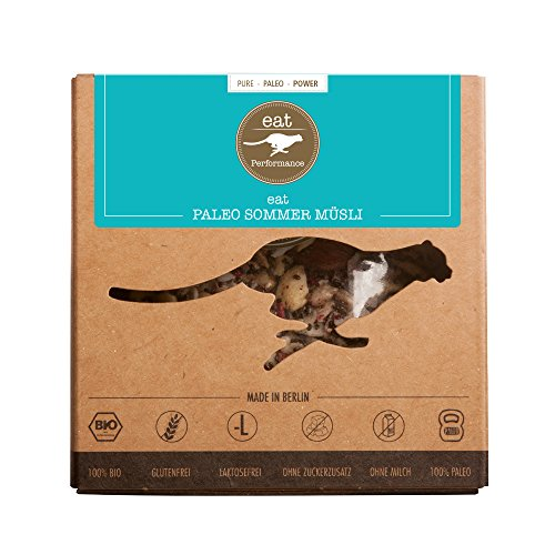 eat Performance® Sommer Müsli (325g) - Bio, Paleo, Glutenfreies Granola Aus 100% Natürlichen Zutaten - Bio-vanille Low Fat