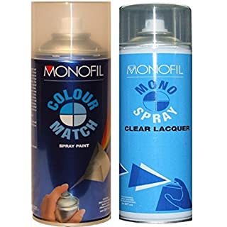 Ford High Quality German Car 400Ml Spray Paint Can G8 Y.D Aquamarine Frost Met From 99-10 + Lacquer