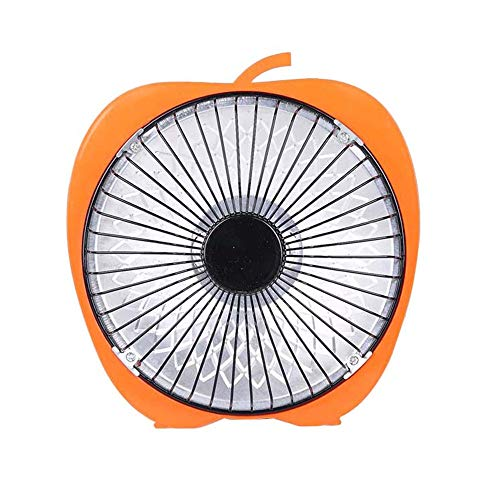 Radiador eléctrico MAHZONG Calentador de sobremesa de bajo Consumo, Oficina, hogar, Naranja,...