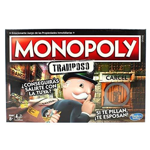 Monopoly- Tramposo (Versión Española), Multicolor (Hasbro E1871105)