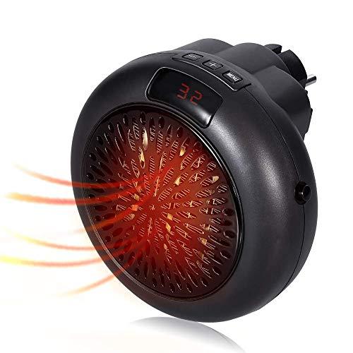 Termoventilatore Elettrico,Mini Stufe Elettrica,Portatile Mini Ceramica Riscaldamento Ventilatore con termostato registrabile- 1000W Mini Handy Heater-per Casa Ufficio Camper