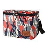 Aosbos Sac Isotherme Repas Portable Multi-usages Style Camouflage
