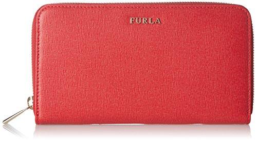 Furla Babylon Xl Wallet Zip Around Rosso