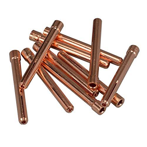 10 x Spannhülse 10N24 - 2,4 mm WIG/TIG 17/18/26 - Miller Collet