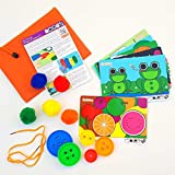 Little Scribblers Full Circle Busy Bag - Learning Resources and preschool educational kids activity packs, working on motor skills, hand-eye coordination and numeracy in a fun and engaging way