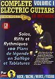 Complete Electric Guitars Vol.1 Rebillard CD Tab