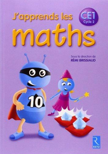 J'apprends les maths CE1 de Pierre Clerc (12 février 2014) Broché