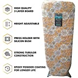 "ADA Extra Large Big Size 18"" X 48"" Folding Ironing Board/Iron Table with Press Stand for Home/Ironing Table with Iron Stand/Iron Stand for Ironing Clothes"