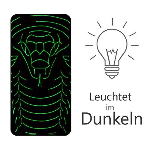 iPhone 6s Plus, 6 Plus Motiv Backcover, Conie Mobile PC Motiv Rückschale Hartschale Hülle Tier Muster, Leuchtefekt, Schutzhülle / Case für hinten Motiv 10