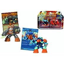 Giochi preziosi - Gormiti - 7551 - L'Ere de l'Éclipse Suprême - Blister de 2 Figurines + Cartes