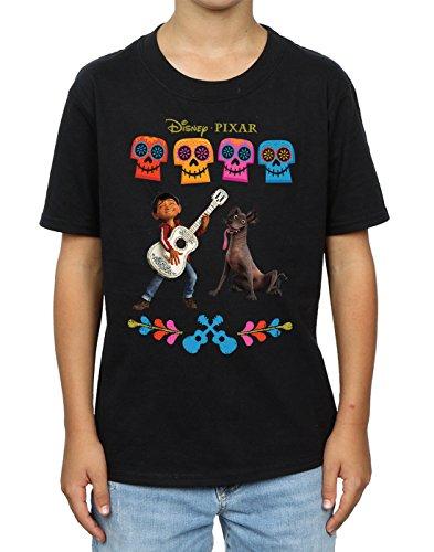 Disney niños Coco Miguel Logo Camiseta