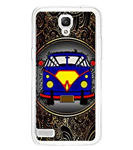 Fuson Super Power Van Vintage Designer Back Case Cover for Xiaomi Redmi Note :: Xiaomi Redmi Note 4G :: Xiaomi Redmi Note Prime (Bike Car Auto Scooter Automobiles)