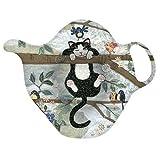 Kiub–rst04d02–Teebeutelablage von The Decor Katze Bergsteigers The Amys
