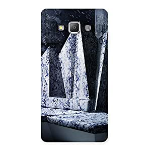 Stylish Marbal Monument Back Case Cover for Galaxy A7