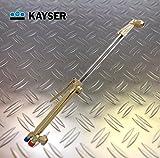 """HaTec Handschneidbrenner 1000mm NFF (1/14""""-3/8"""" LH) Düsenkopf 75° Sauerstoff-Propan, Hand-Schneidbrenner, Schneidbrenner, Schweißbrenner, Propanbrenner"""