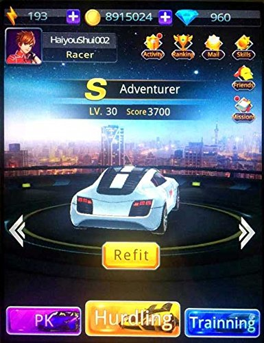 Pocket-Racing-PR-25118-Racer-Car-and-Race-a-Real-Car-iPad-Silver
