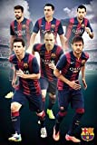 FC Barcelona Poster Top-Spieler - Poster Großformat (61cm x 91,5cm)