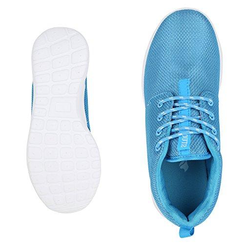best-boots - Sneaker Donna Hellblau Nuovo
