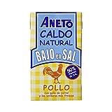 Aneto Caldo Natural de Pollo, Bajo en Sal - 1000 ml